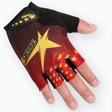 定制Qepae奇珀爾廠家夏季男女騎行手套健身防滑杠鈴半指短指定制