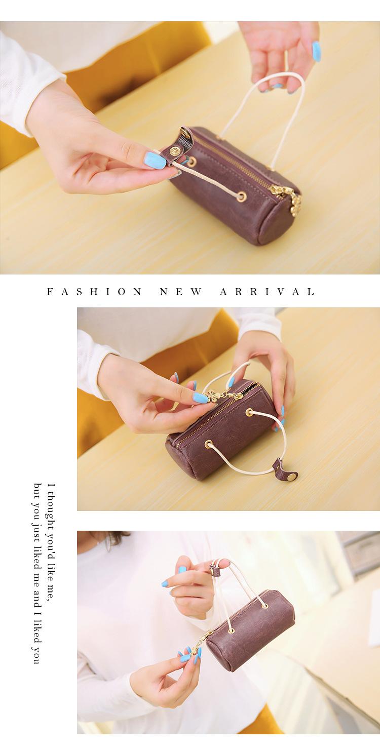 Korea PU  handbag  (black)  NHNI0323