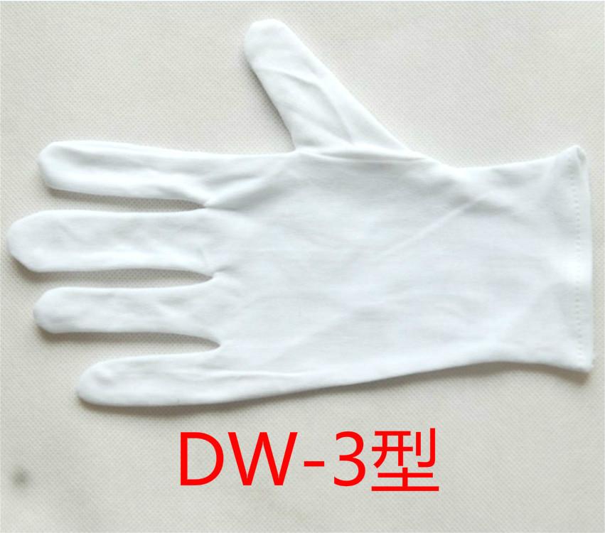订做汗布手套 棉毛手套 礼仪手套 棉布手套 氨棉手套 型号DW-3
