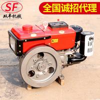 Сельскохозяйственный дизельный двигатель один Цилиндровый дизельный двигатель один Цилиндровый дизельный двигатель четырехтактный двигатель