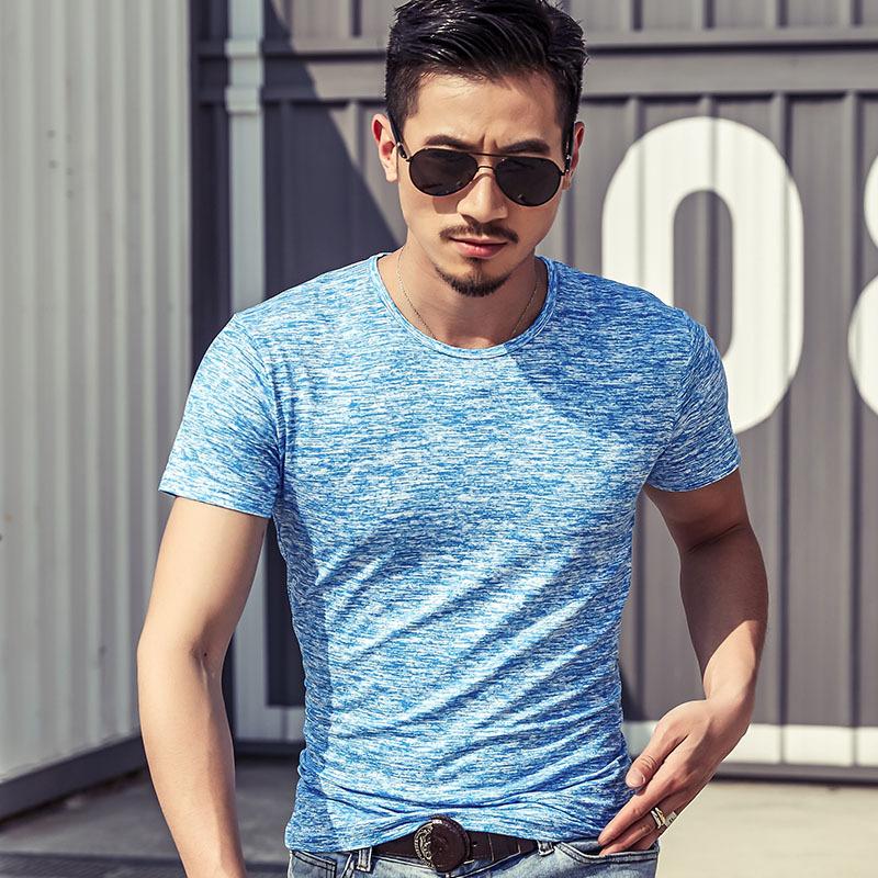 2017夏季新款男装t恤迷彩新潮男式短袖棉丝潮男服装文化男式t恤