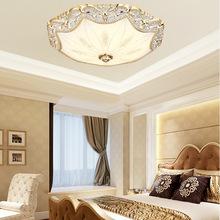 创意欧式圆形led吸顶灯过道阳台主卧室灯书房展厅酒店楼道吸顶灯