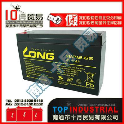LONG(广隆) WP12-6S蓄电池 原装进口