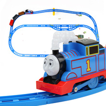 新款托馬新電動軌道小火車兒童玩具親子互動拼裝模型軌道車玩具