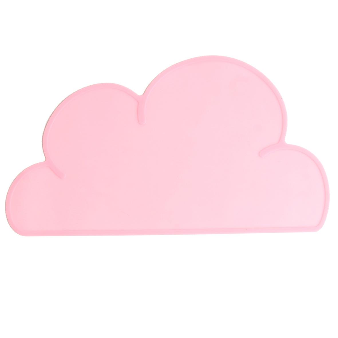 生活用品儿童厨房用品宠物垫儿童餐垫云朵硅胶餐垫防滑垫厂家直销
