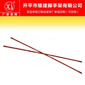 鸿建批发脚手架斜拉杆 固定扣件支撑架 圆角斜撑 门架配件 可订做