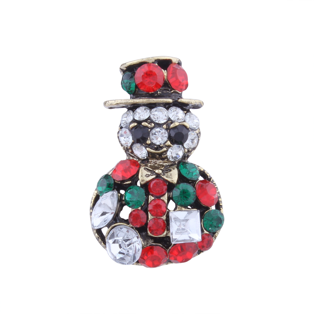 Occident and the United States alloy Diamond Jewelry Set (Christmas suits)NHNMD3836-Christmas suits