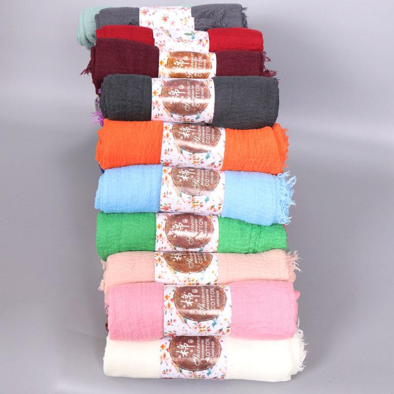 堆放效果图 (4)-毛须围巾褶皱 单色围巾批发