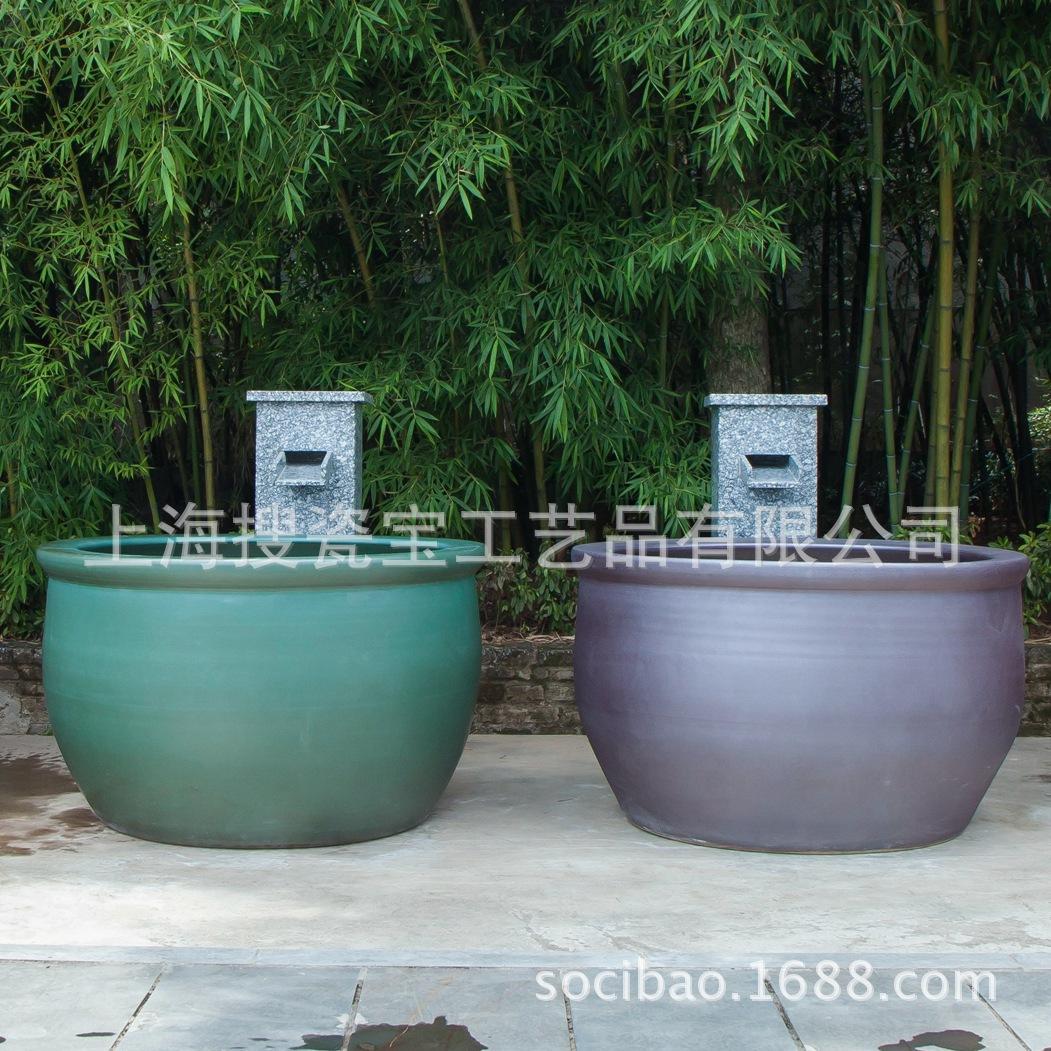 供应各种日韩式温泉缸 极乐汤大江户温泉澡缸 陶瓷泡澡缸
