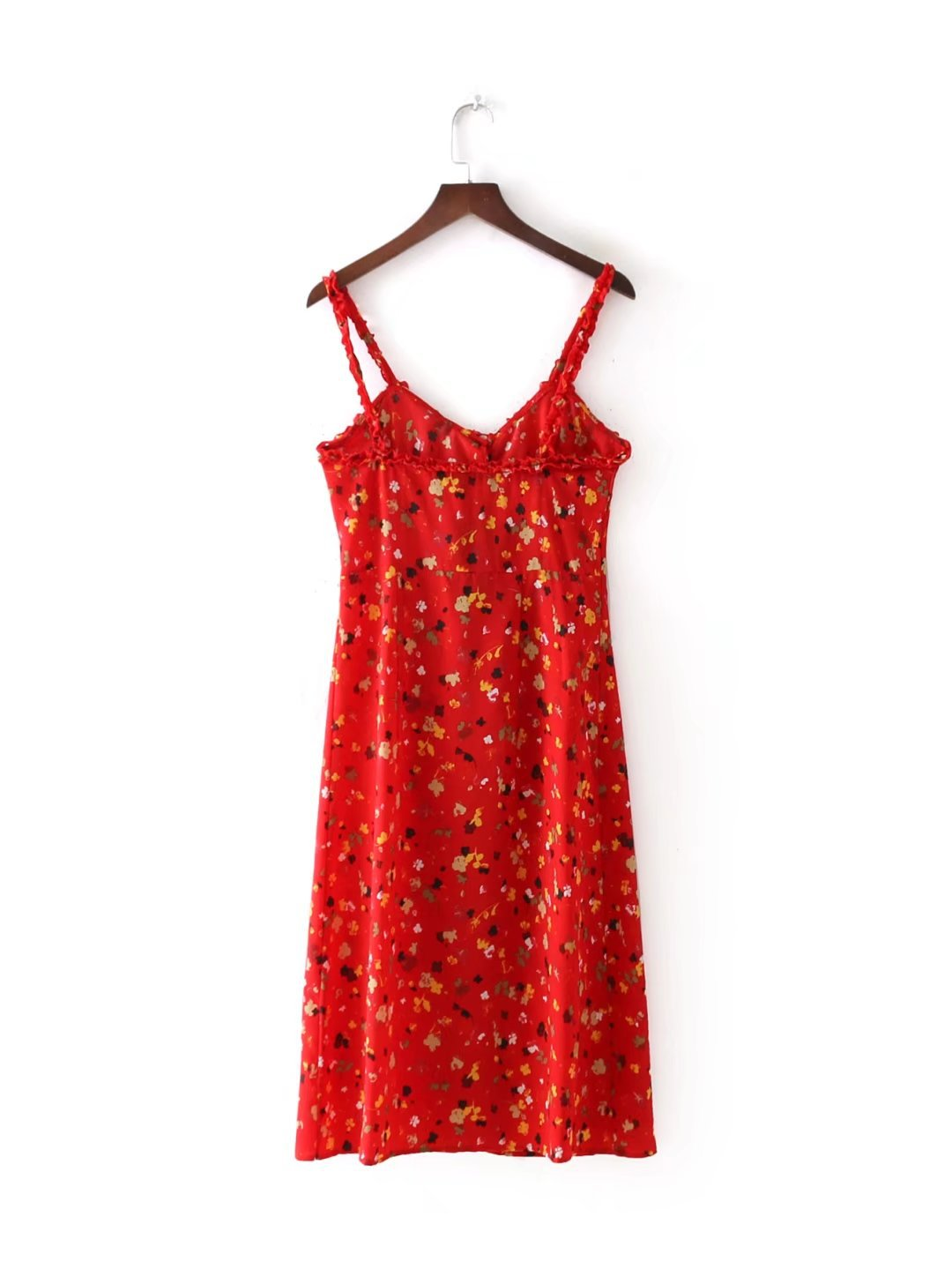 Sexy & Party Chiffon  dress  (Red-s)  NHAM1462-Red-s