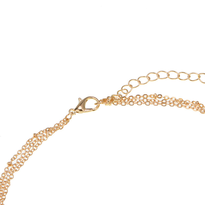 other copper other necklace (Gold)NHYT0342-Gold
