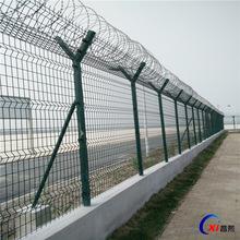 河北安平絲網定做北京機場護欄隔離網 機場飛行區防護網 廠價直銷