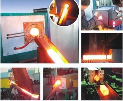 刮板淬火設備、八角錘平面淬火設備、羊角錘淬火設備