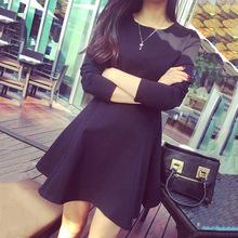 Đầm nữ thời trang, màu sắc cá tính nữ tính, mẫu Hàn mới