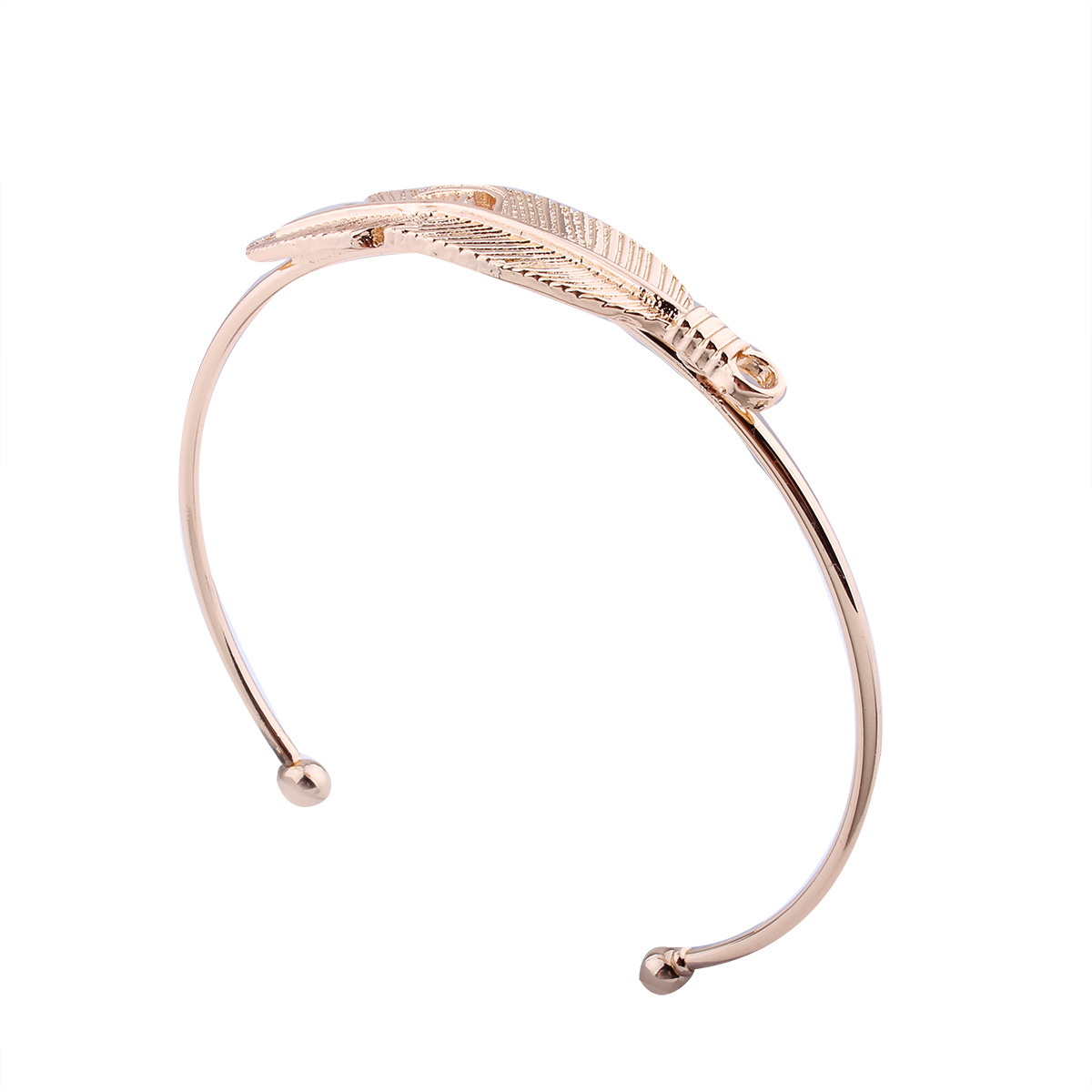 Fashion Alloy plating bracelet Sweetheart (Gold)NHNMD4062-Gold