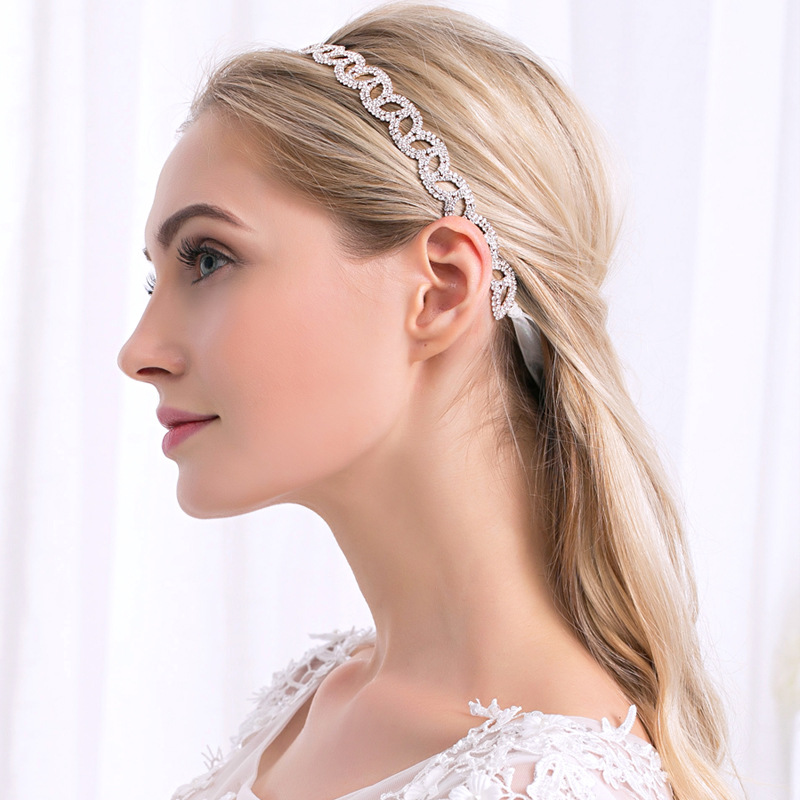Alloy Fashion Geometric Hair accessories  Rose alloy NHHS0016Rose alloy