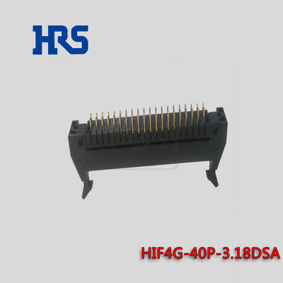 HRS连接器HIF4G-40P-3.18DSA广濑Hirose插座3.18mm间距 HRS代理