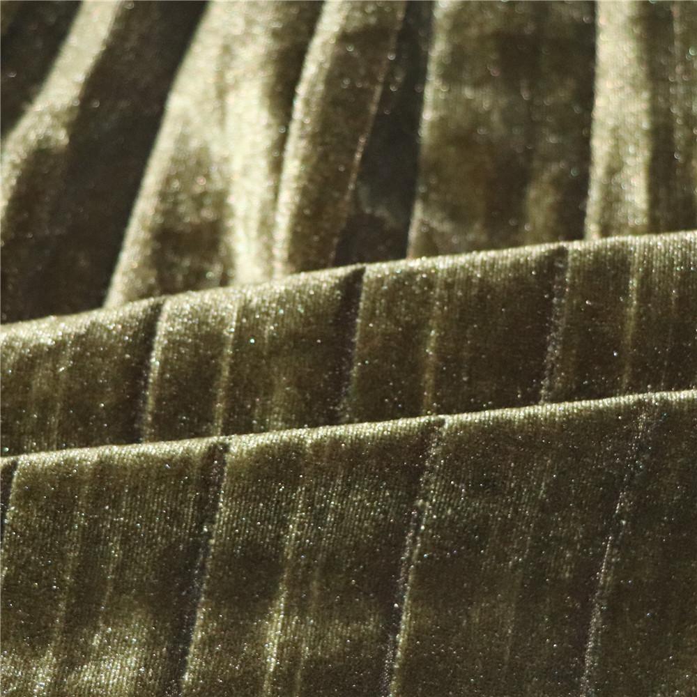 苏州压皱厂家供应短毛绒仿超柔绒布面料压褶压皱加工