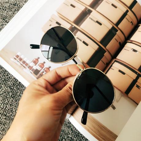 Summer đơn sản phẩm 2017 Hàn Quốc khung kim loại hình bầu dục retro kính râm nữ cá tính đẹp trai kính râm gương