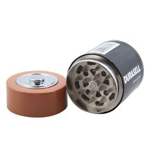 Creative Battery Shaped Herbal Herb Tobacco Grinder Weed Spi