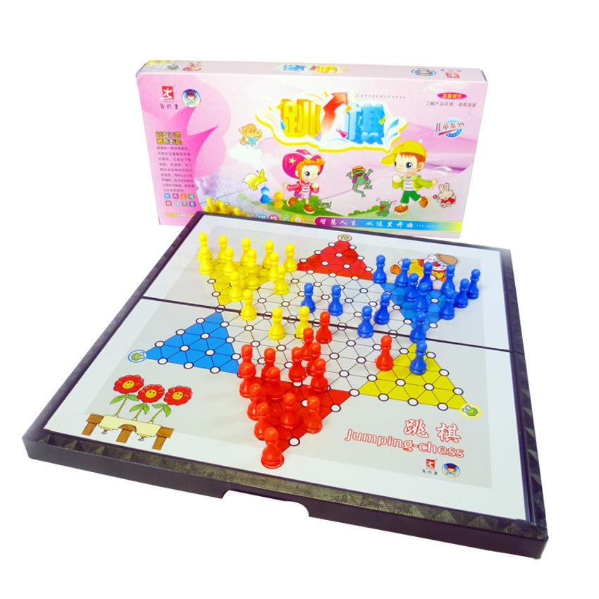 【磁性折叠跳棋】益智儿童卡通教具 五子棋飞行棋围棋厂家直销