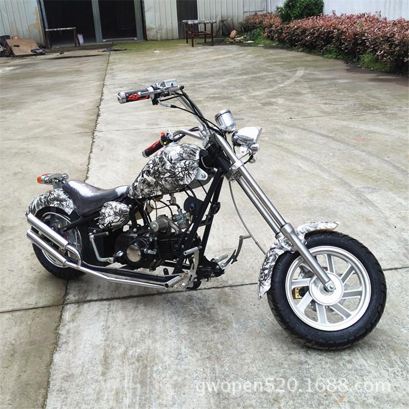 产地货源迷你哈雷太子摩托车125代步休闲厂家批发新品一件代发