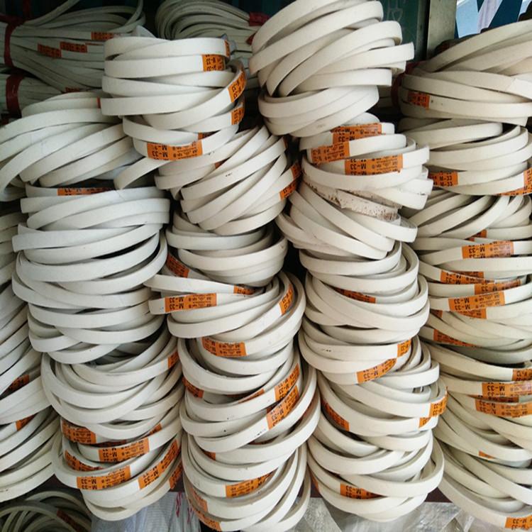 批发工业缝纫锁眼平车电机传送带双华牌三角O型M型白皮带