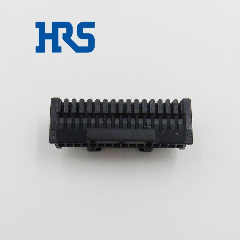 HRS连接器DF50A-16S-1C黑色塑壳**