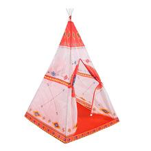 跨境印第安兒童帳篷民族風歐美嬰兒玩具蒙古包公主蚊帳游戲屋房子