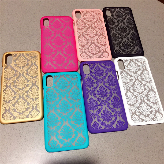 Palace pattern for Apple X mobile phone case iphoneXSmax protective cover half pack matte embossed feel XR