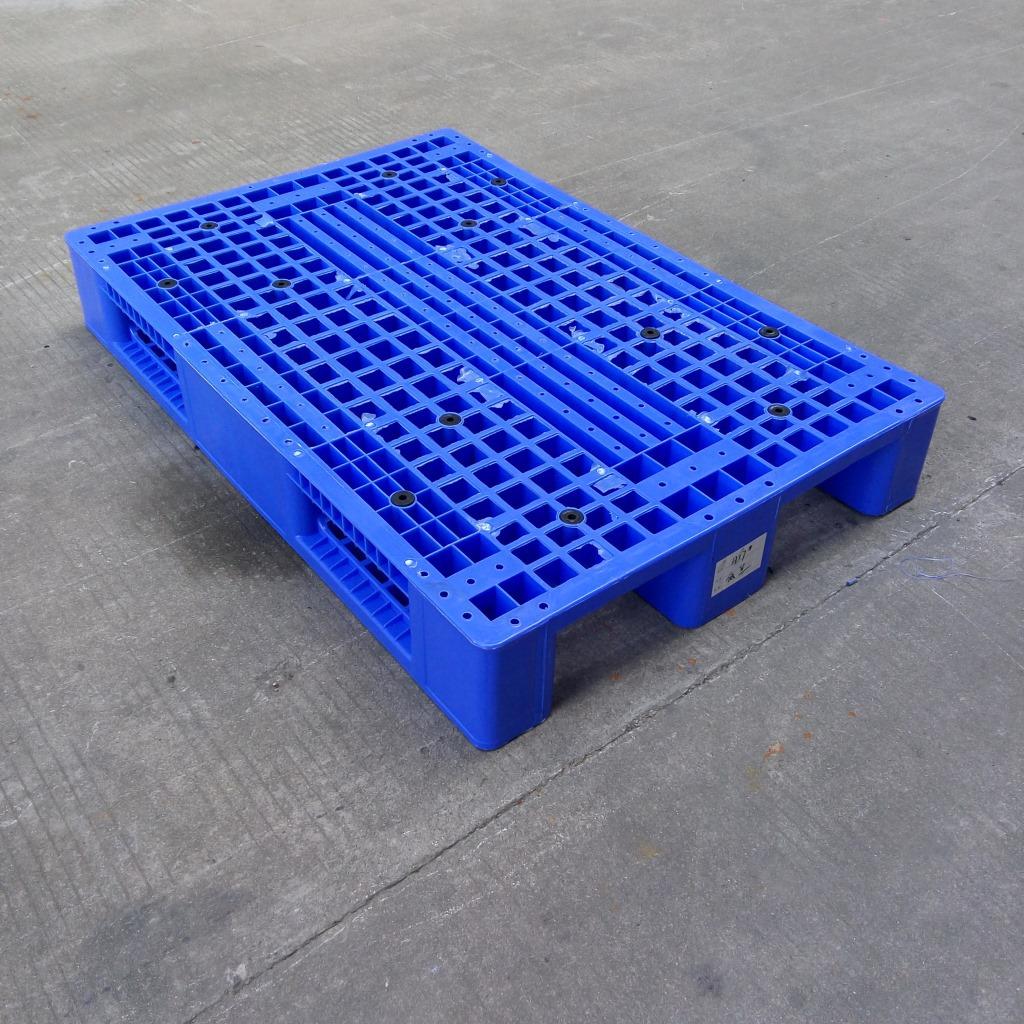 厂家供应pe塑料1200*800*170卡板 批发生鲜食品叉车网格托盘