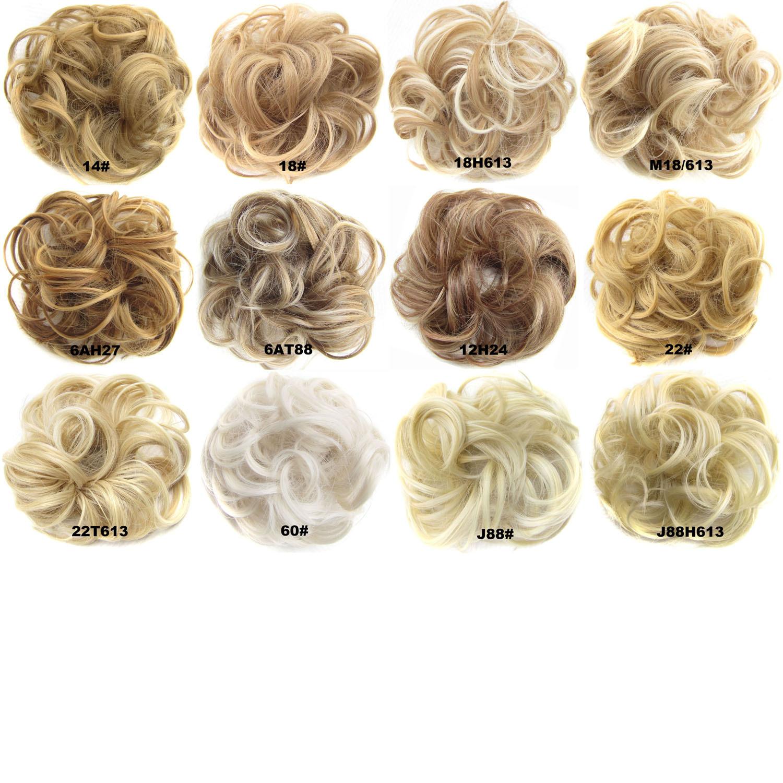 Perruque cheveux bouclés moelleux - Ref 3425438 Image 5
