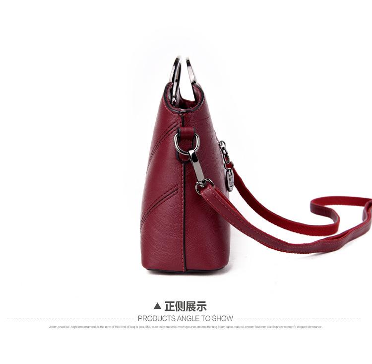 Korean version PUShoulder bag (Taro purple)NHPB0341-Taro purple