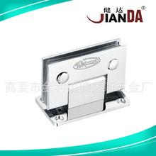 廠家直銷 JD-223B 玻璃門夾 玻璃門夾鎖夾 不銹鋼門夾批發定制