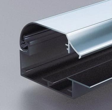 超薄灯箱、海报夹铝型材