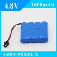 4.8V镍镉充电池组 NI-CD AA 2800毫安 �?爻低婢吲浼⒊陀�