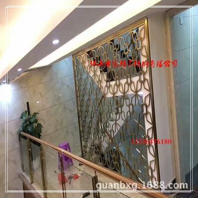 贵阳不锈钢古铜屏风价格 六盘水酒店不锈钢屏风定做