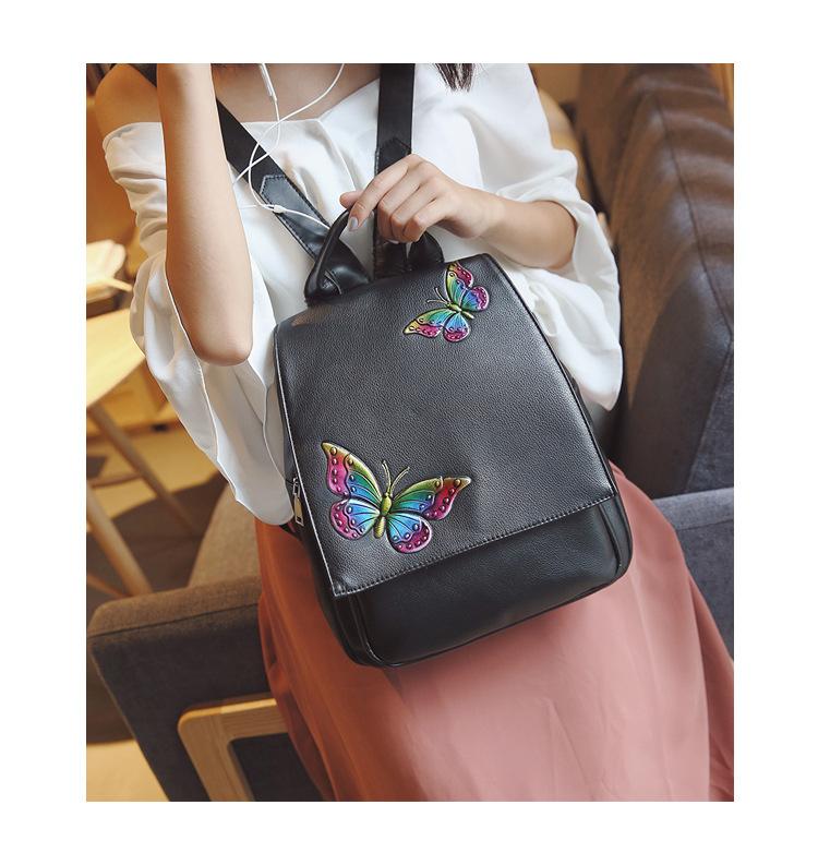 Korean version PUShoulder bag (Rainbow)NHPB0415-Rainbow