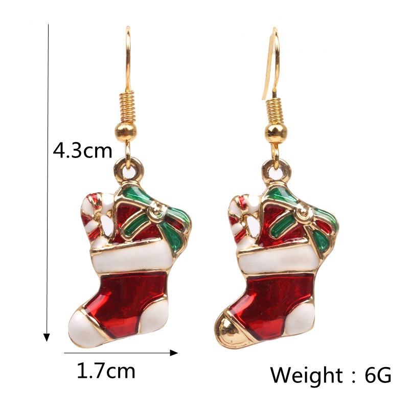 Alloy Fashion Geometric earring  (Socks 1) NHYL0514-Socks-1