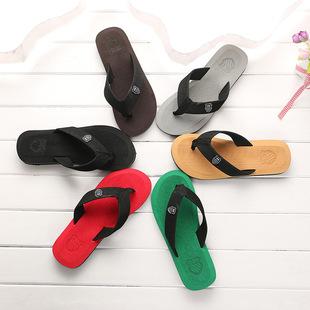 Лето взрыв моделей шлепанцы мужской шлепанцы оптовая торговля песчаный пляж обувь продаётся напрямую с завода шлепанцы домой шлепанцы