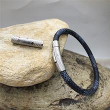 不锈钢磁铁扣 手链扣 压花手链项链扣皮绳扣 饰品配件批发