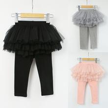 Trẻ em mặc quần váy trẻ em Quần Tutu Mùa xuân Hiệu suất mặc bên ngoài Váy Joker Nhà sản xuất cung cấp bán buôn Culottes