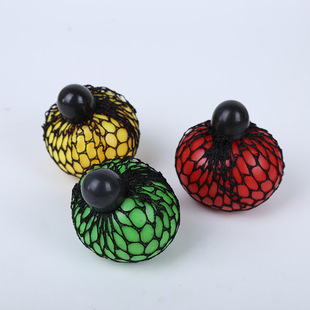 Vent decompression toy grape ball adult children pinch music vent toy manufacturers wholesale gifts