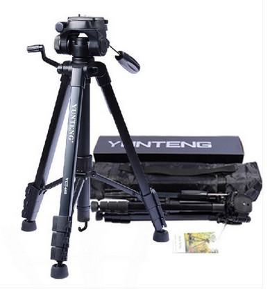 云腾668三角架支架摄像机手机适合佳能尼康照相机便携单反三脚架