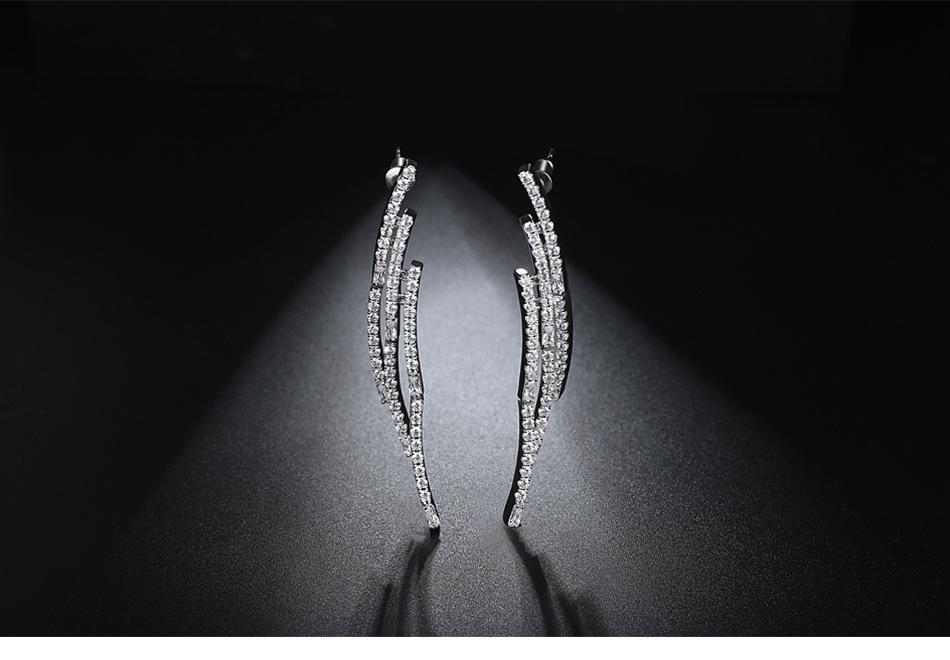 Alloy Fashion Geometric earring  PlatinumT08I04 NHTM0556PlatinumT08I04