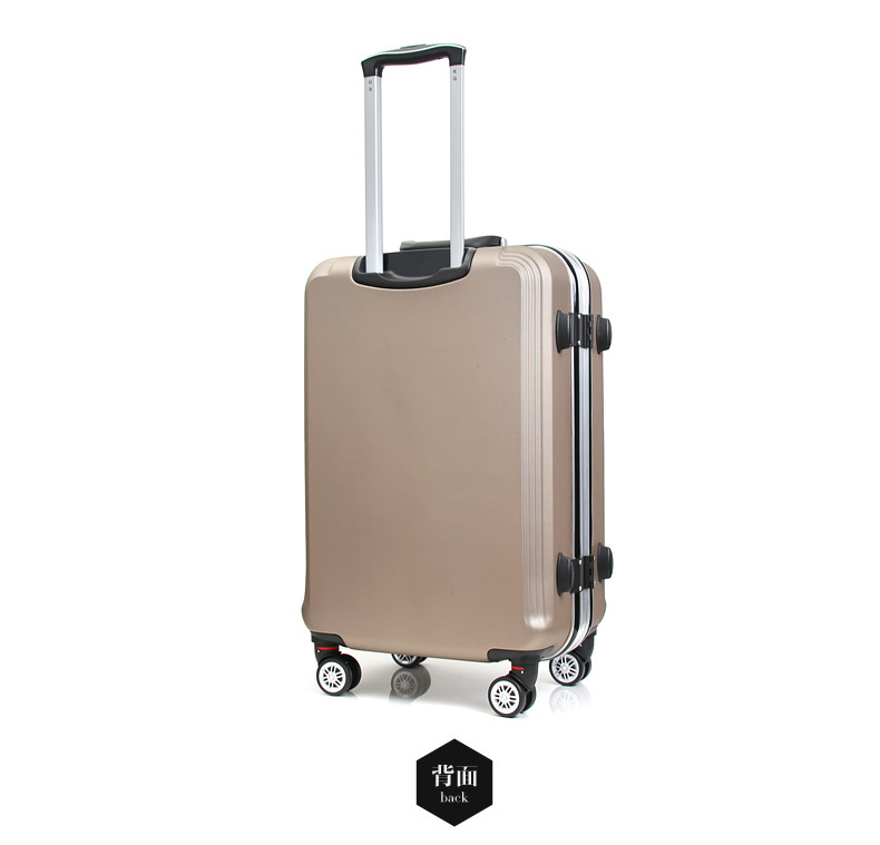 Luggage & Travel Bags Travel Tale 2024inch High Quality Eminent Kinder Trolley Abs Pc Hand Luggage Suitcase With Aluminum Frame