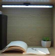 新款私模USB触摸灯15LED可调光智能小夜灯 橱柜灯可充电LED触摸灯