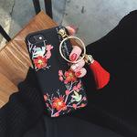 新款合金大圈金丝流苏挂件 diy手机壳材料包手工制作饰品配件热卖