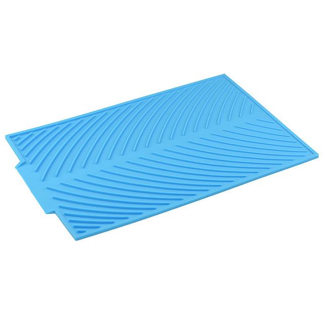 Silicone Bảng Mat placemat cách nhiệt pad Xả dầu và không thấm nước mat bát thảm bảng mat mat cách nhiệt chống bỏng nhà Silicone giả