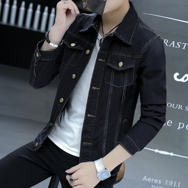 New autumn denim jacket men's jacket youth casual cotton jacket tide male trend Slim shirt